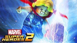 THOR O DEUS DO TROVÃO - LEGO MARVEL Ep.02  ‹‹ P3DRU ››