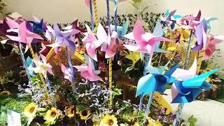 아산병원 30 주년 꽃…