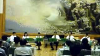 パルナッソス・リコーダーアンサンブルによる演奏