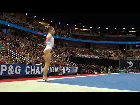 Ragan Smith - Floor Exercise - 2017 P&G Championships - Senior Women - Day 2