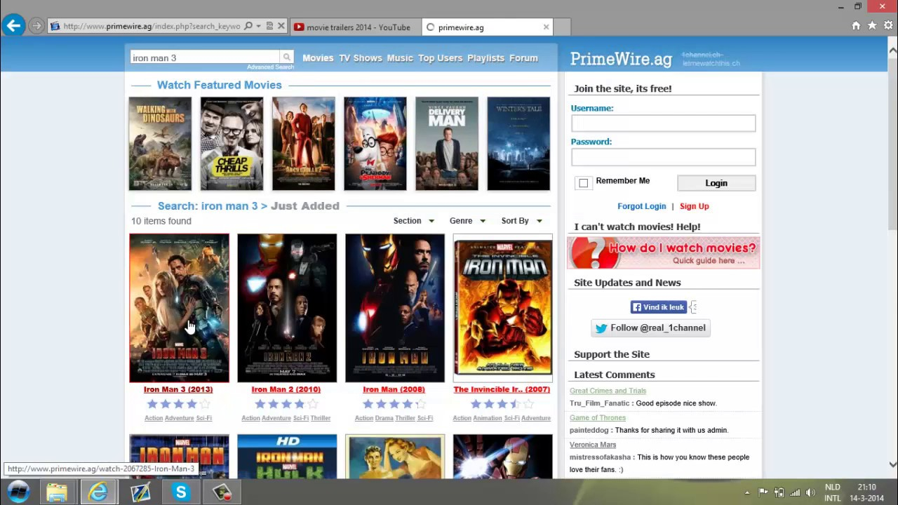 How To Watch Movies FREE primewire - YouTube