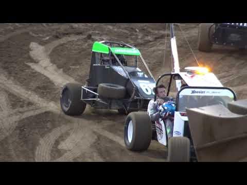 Belle Clair Speedway Midget Heat 10-13-19