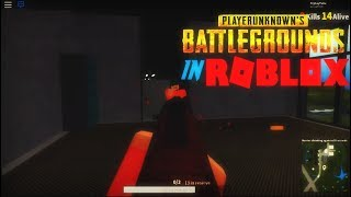 THEY MADE PLAYERUNKNOWN'S BATTLEGROUNDS in ROBLOX?!