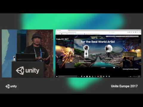 Unite Europe 2017 - Latest Samsung immersive technologies empowering Unity devs