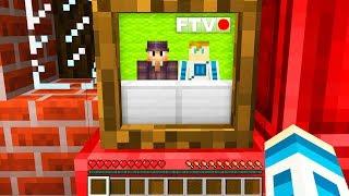 PIERWSZA MINECRAFTOWA TELEWIZJA    Minecraft Ferajna