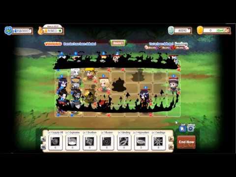 Pockie Ninja II Social : Arena : Rank 40 Challenging Rank 38