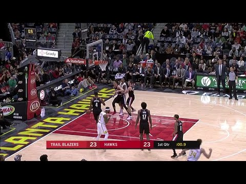 1st Quarter, One Box Video: Atlanta Hawks vs. Portland Trail Blazers