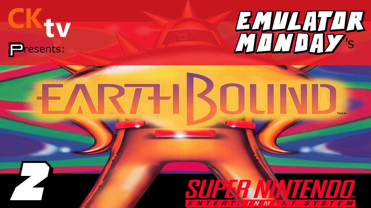 Emulator Monday: Earthbound (Playthrough)   #2   Buzz Buzz NO!