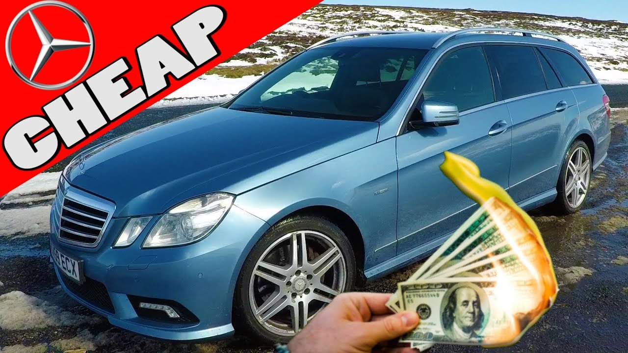 I Bought the Cheapest E Class Sport W212 in the COUNTRY = PROBLEMS vlog