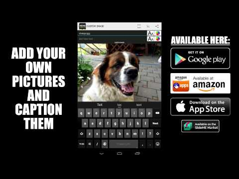 Meme Generator Free for iOS and Android