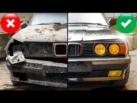 Нашли и купили БМВ E34 в гаражах #тачказарубль №5 Дешёвки или тачка невозврата?