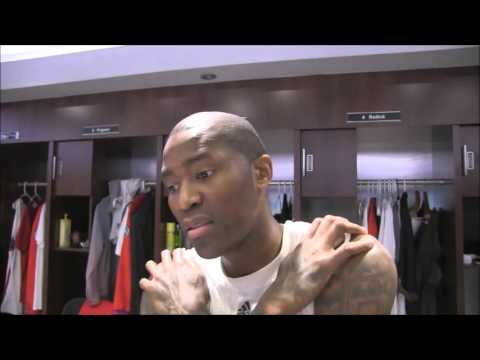 Los Angeles Clippers: Jamal Crawford Interview (Sixth Man of Year Leader))