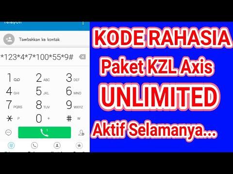 Jebol Kode Rahasia Kartu Axis Kuota Gratis Paket Kzl Unlimited