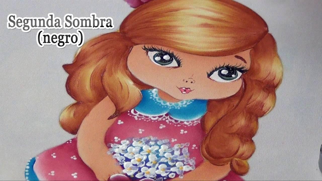 Pintar mu ecas en tela 4 4 youtube - Dibujos para pintar en tela infantiles ...