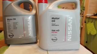 Новая канистра 2017! Оригинал масла Nissan motor oil 5w40 в канистре 2017 года выпуска.
