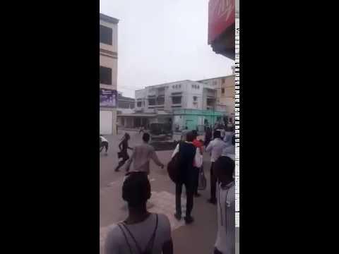 D.R.CONGO CAPITAL KINSHASA CITY LO INDIAN MEEDA ATTACK