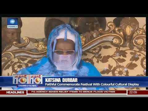 Katsina Durbar: Faithful Commemorate Festival With Colourful Cultural Display