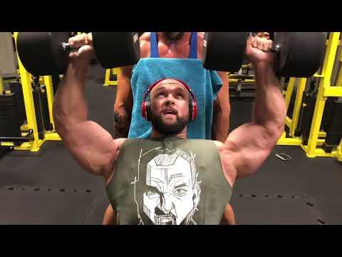 Pavel Beran - ramena, biceps - Nervozita stoupá!
