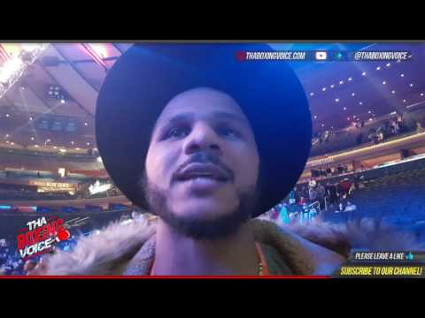 Anthony Dirrell Post Fight Thoughts on Gennady Golovkin vs Daniel Jacobs