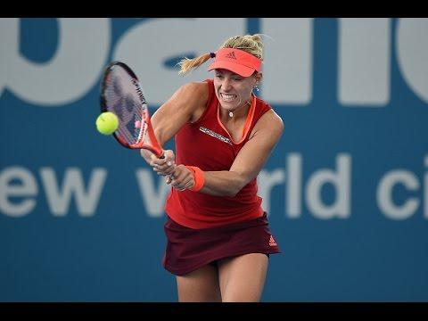 Ver Video de Camila 2016 Brisbane International First Round | Angelique Kerber vs Camila Giorgi | WTA Highlights