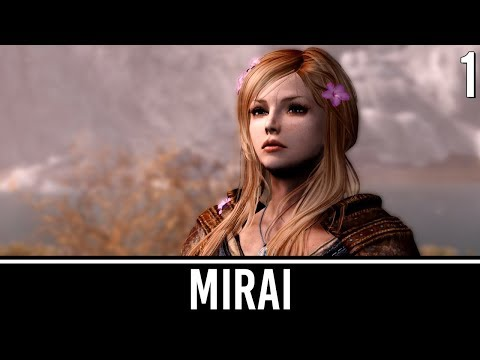 Skyrim Mods: Mirai - Girl With the Dragon Heart - Part 1