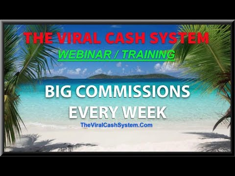 The Viral Cash System - How To Make $500 Per Day Online with Power Lead System - Webinar 1