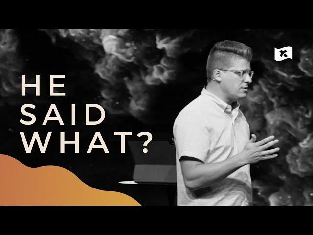 He Said What? | Josh Mayo