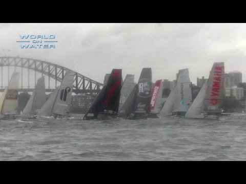 World on Water March 10 17 Sailing News TV Show Foiling Dinghy, Conrad Colman, Anchoring, JJ's
