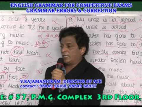 BEST ENGLISH  GRAMMAR ERRORS&CORRECTION TRAINING IN CHENNAI- GRAMMAR ERRORS.