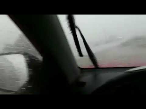 Cidades do RN registram chuvas de granizo