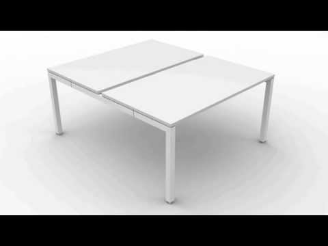 desk frames the k series modular desk frames