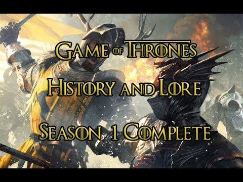Game Of Thrones - Histories And Lore - Season 1 Complete - ENG And TR Subtitles