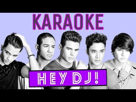 CNCO - HEY DJ - KARAOKE