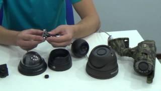 Устройство камер видеонаблюдения и их отличия, Магазин