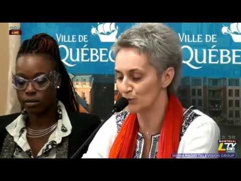 2014-06-11 13h00 - Hotel de Ville de Quebec Conference de presse