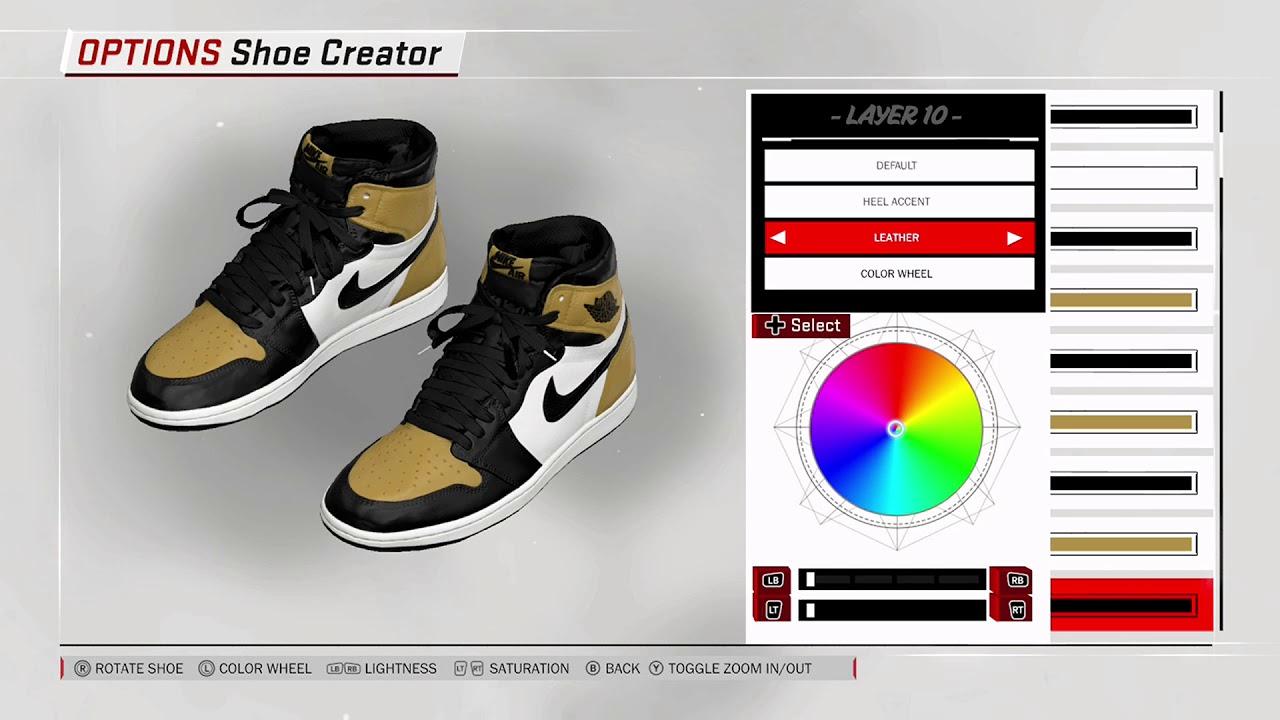 NBA 2K18 Shoe Creator - Air Jordan 1