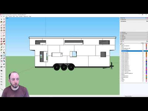 Part 11 | Making a Material List from Sketchup Drawings | Designing a Tiny House in Sketchup