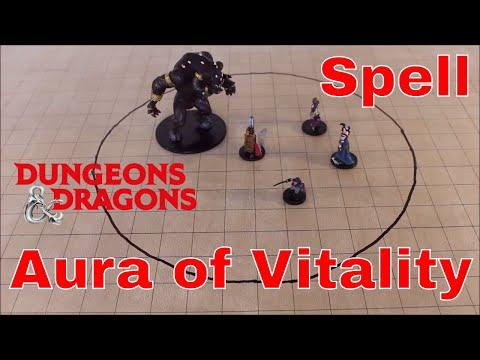 D&D Spell (5e): Aura of Vitality
