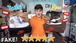 I Spent $1000 On The Most Expensive Sneakers On Wish.com!