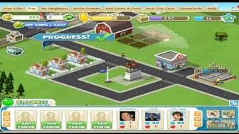 Zynga Cityville Gameplay Footage