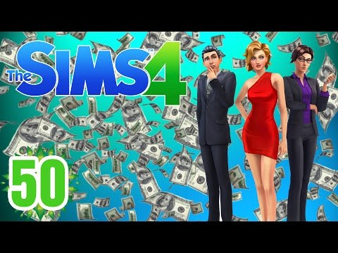 """Rolling in Money!! """"Sims 4"""" Ep.50"""