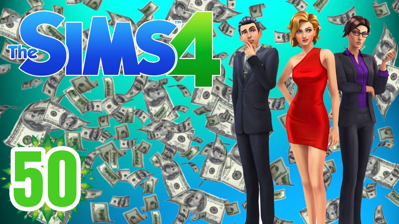 Rolling in Money!! 'Sims 4' Ep.50