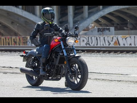 13 Fast Facts 2017 Honda Rebel 500 And 300