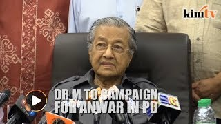 Mahathir to campaign for Anwar in Port Dickson