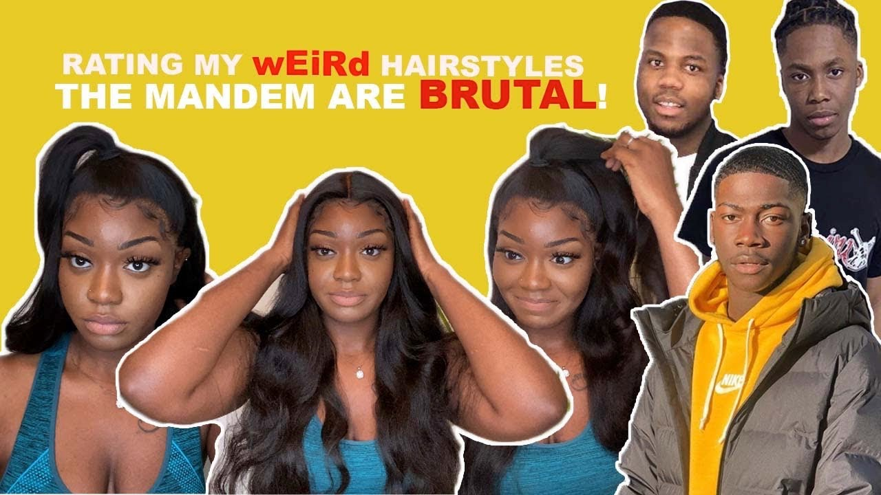 THE MANDEM RATE MY HAIRSTYLES WITH NO TYPE OF REMORSE   KLAIYI HAIR REVIEW