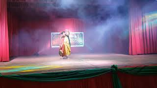 Faguner  mohonay  Dance performance  in  Paraguay celebrating Pohela Boishakh (mithila parvin)