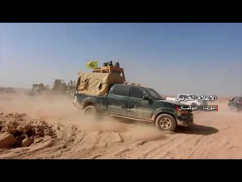 Syria War  Syrian Army Helmet Cam GoPro Combat   Heavy Clashes With ISIS During Combat In Abu Kamal