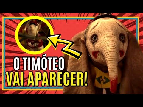 Desvendando os SEGREDOS do trailer de DUMBO! 🐘💖