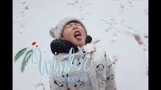[탱디오] 오즈모포켓으로 찍은 눈오는날 아빠엄마랑 어린…