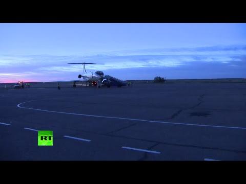В аэропорту Крайний встречают Овчинина и Хейга
